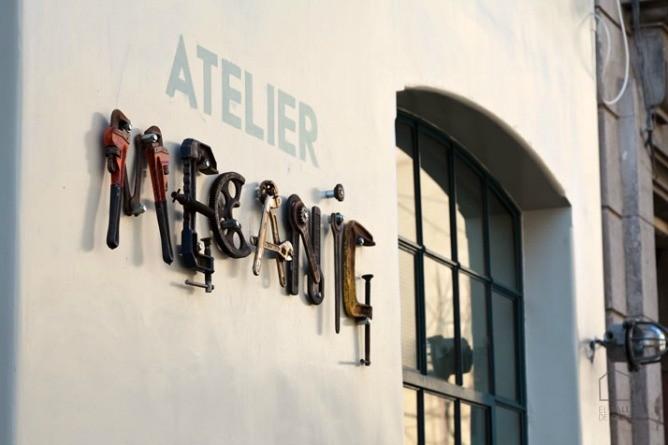Atelier Mecanic, decoración estilo industrial.