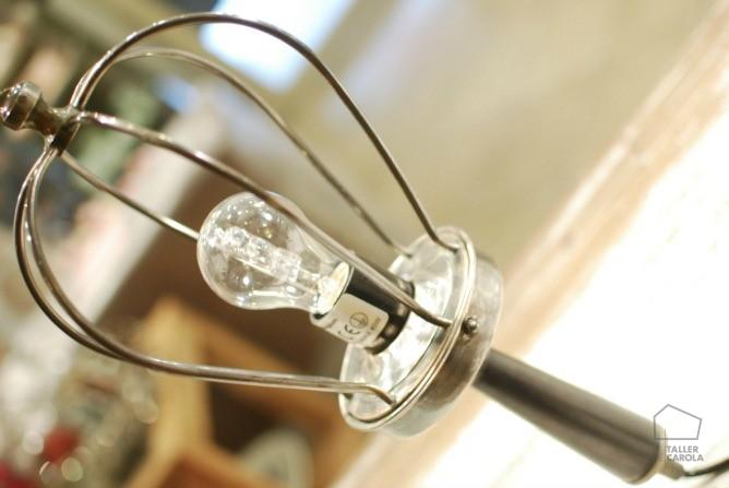 """lámpara """" atelier """" de estilo industrial"""