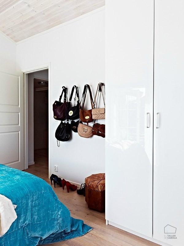 Perchas y percheros de pared ambientes de decoraci n - Perchas para bolsos ...