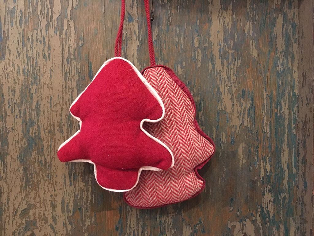 Adornos Navidad Arbol Fieltro
