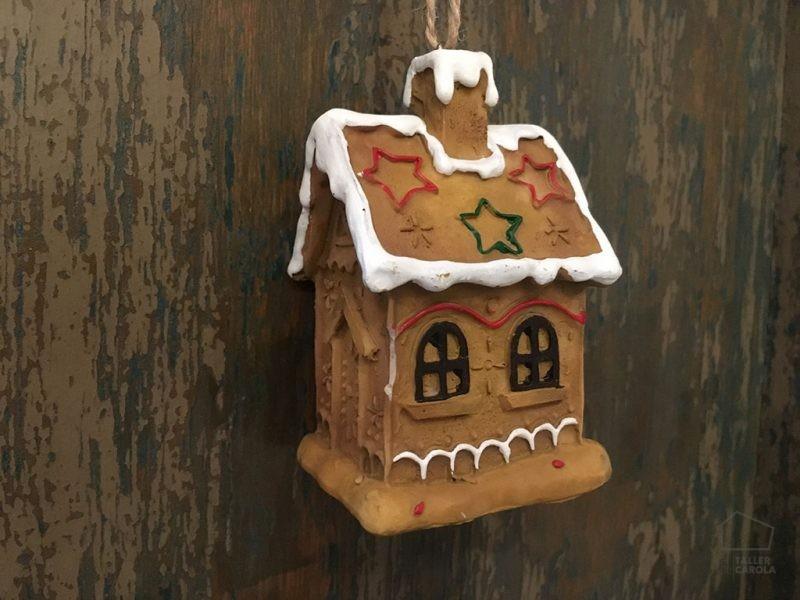 Adorno Navidad Casita Galleta