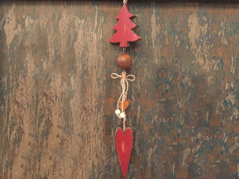 Adorno Navidad Guirnalda Madera