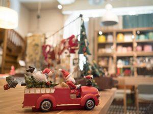Adornos Navidad Tienda Decoración