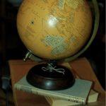Bola del mundo vintage