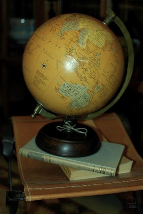 Bola del mundo vintage el taller de carola - Bola del mundo decoracion ...