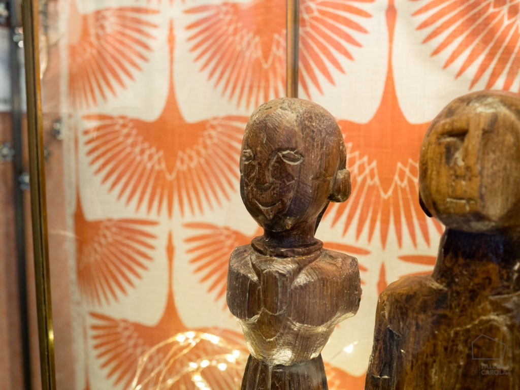 Diosas de la Fertilidad Antiguas Figura Madera