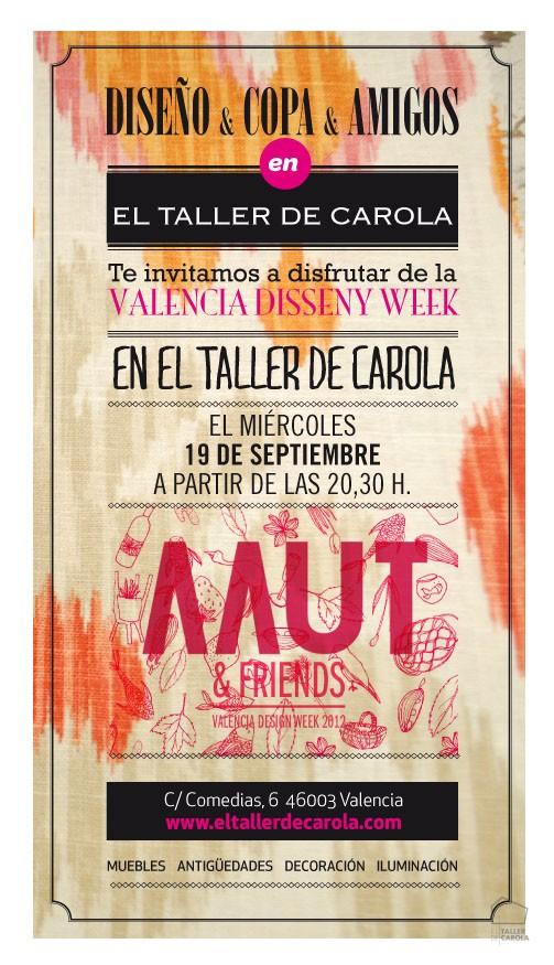 Valencia Disseny Week en El Taller de Carola