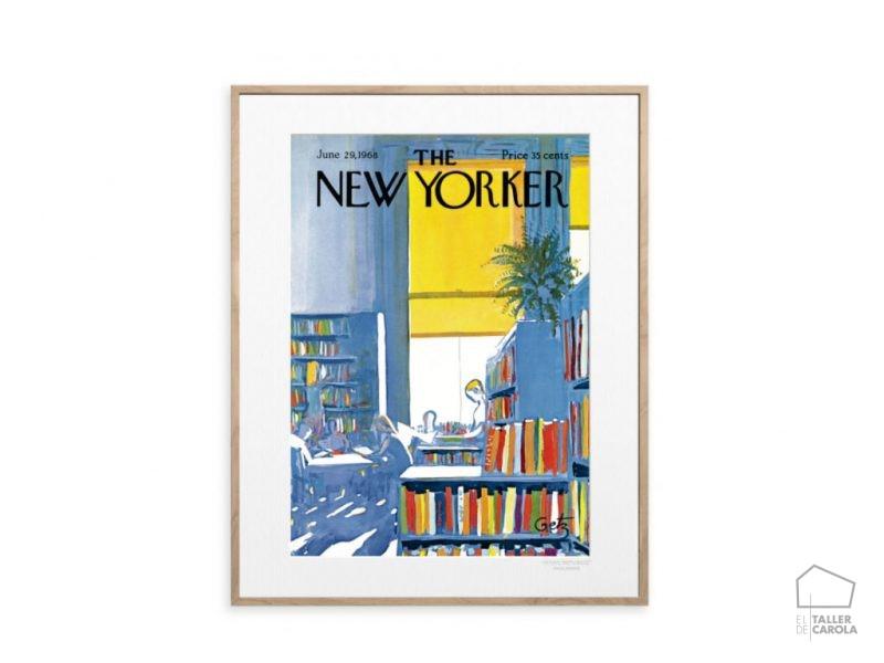 The Newyorker Poster Biblioteca