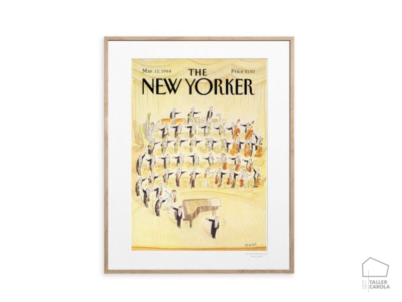 Lamina The Newyorker Orquesta