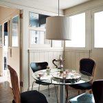Lámpara pantalla Cinta Beige, Cocina-Office ( foto vía NuevoEstilo )