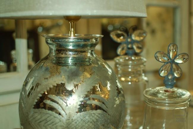 lamparas espejo antik