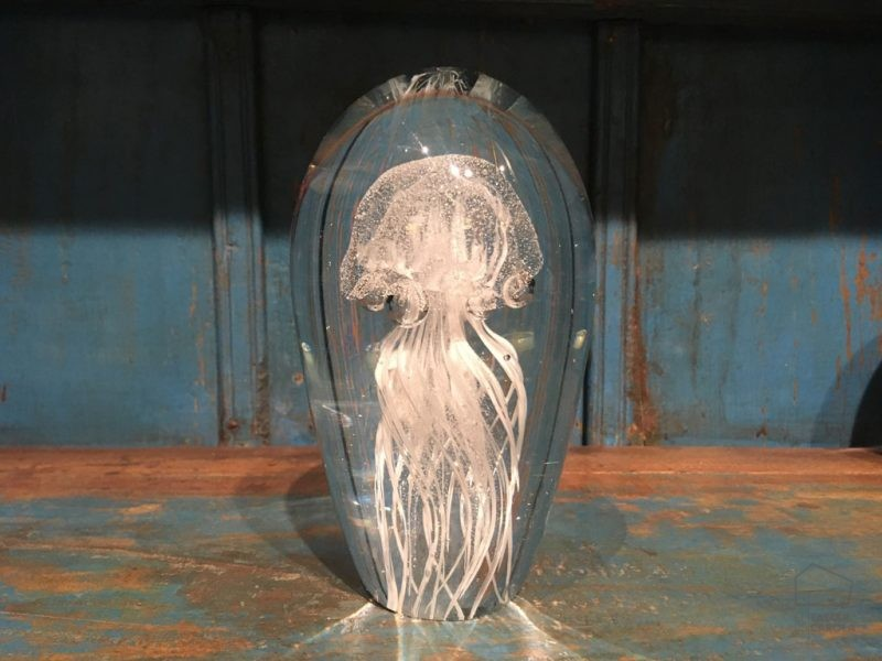 Medusa Cristal Blanca