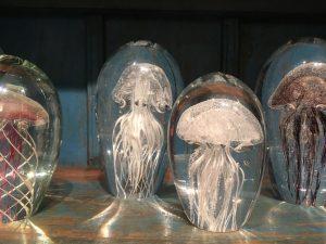 Medusas Cristal Decoración