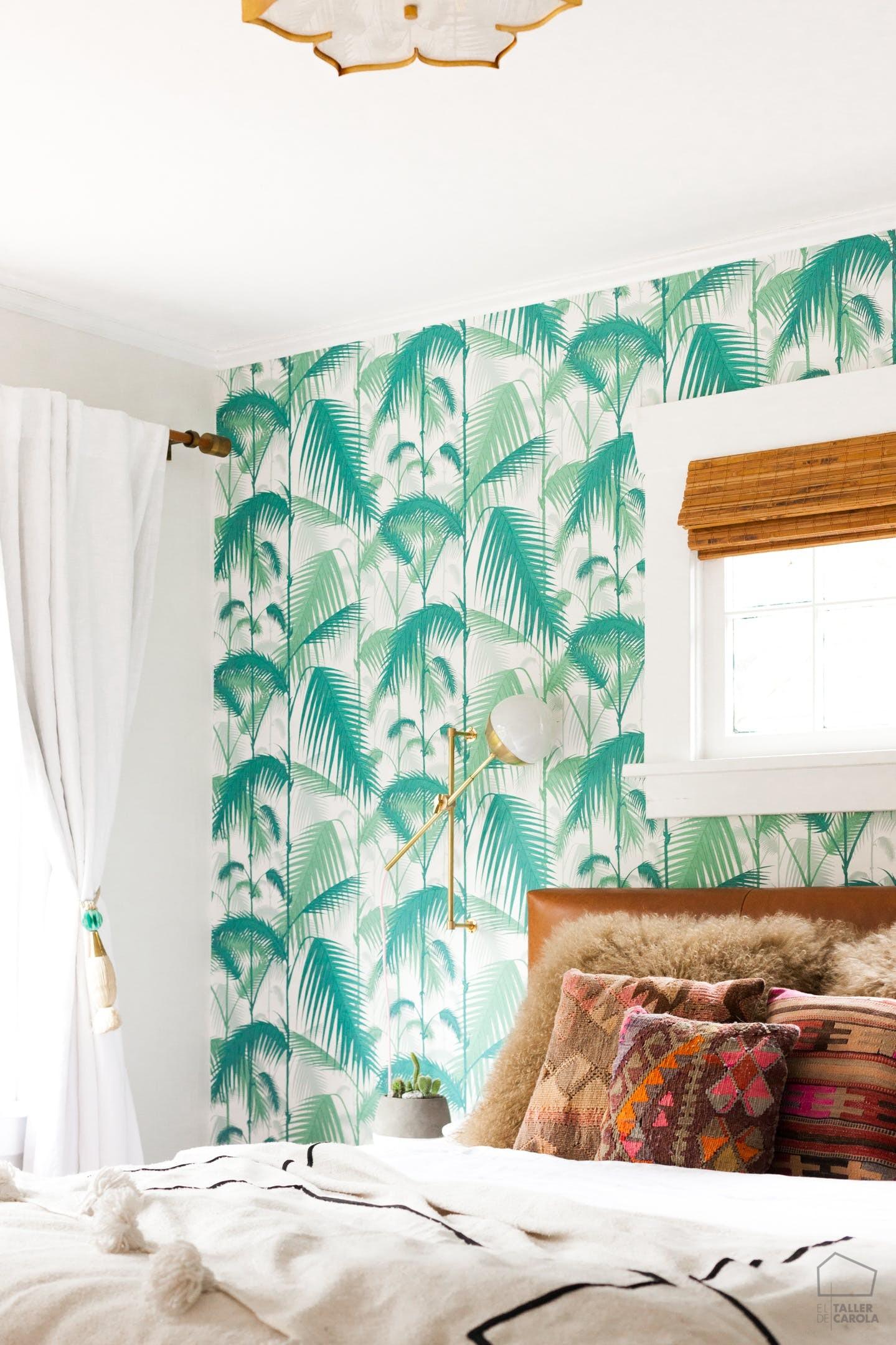 papel pintado palmeras