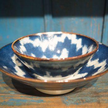 Plato Ceramica Japonesa
