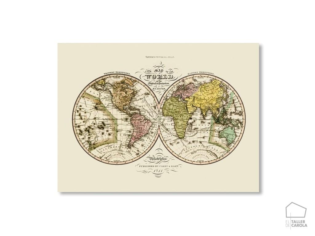 Poster Mapa Mundi Regalo