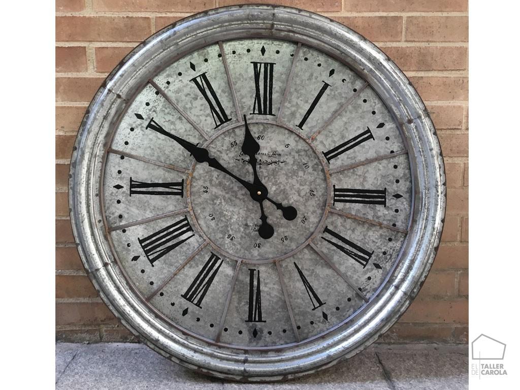 Reloj Redondo Vintage Zinc