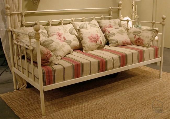 Estilo vintage sof s camas de forja el taller de carola for Sofa cama vintage