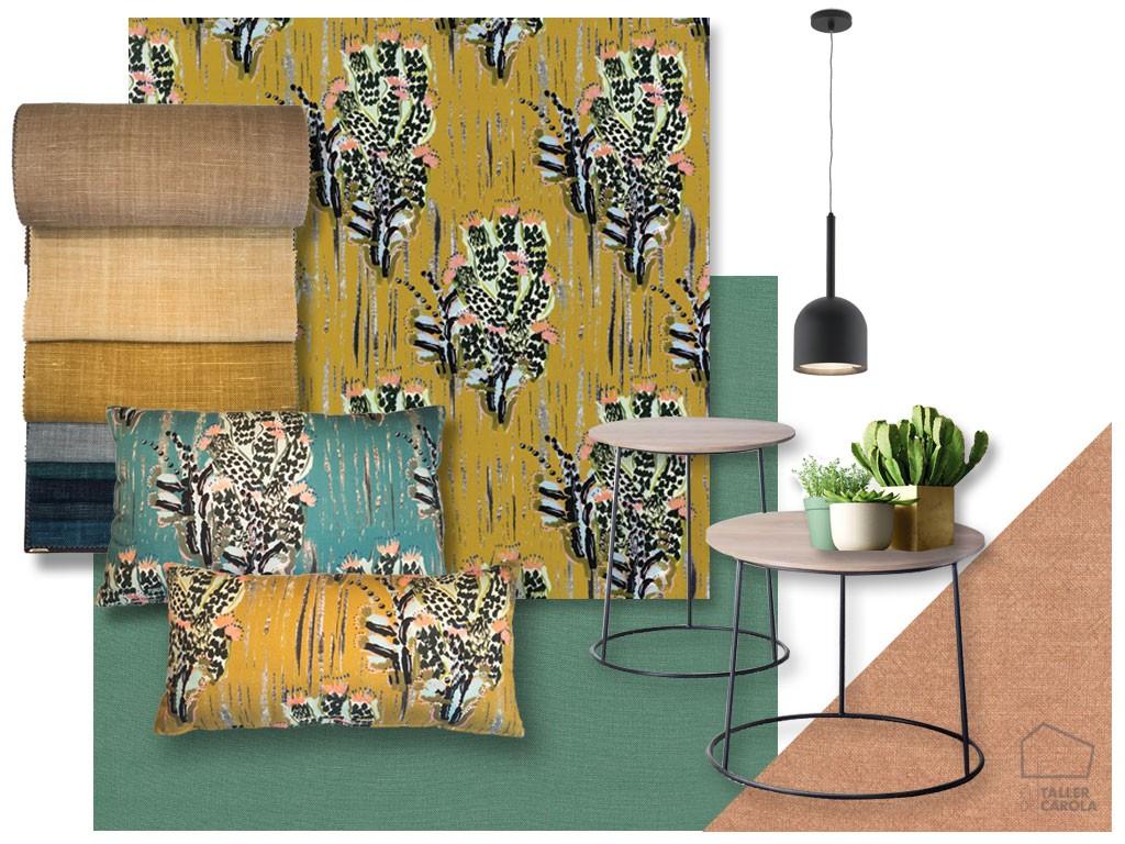 Tela Cactus Interiorismo