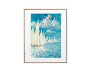 The Newyorker Poster Barcos