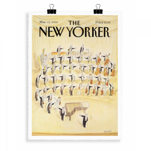 The Newyorker Orchestre Poster